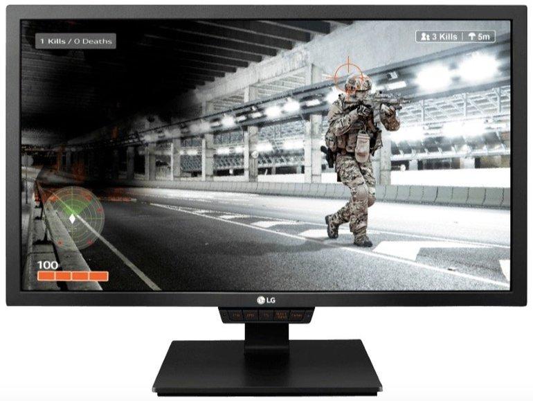 LG 24GM79G - 24″ Gaming Monitor mit TN-Panel für 199€ inkl. Versand (statt 246€)