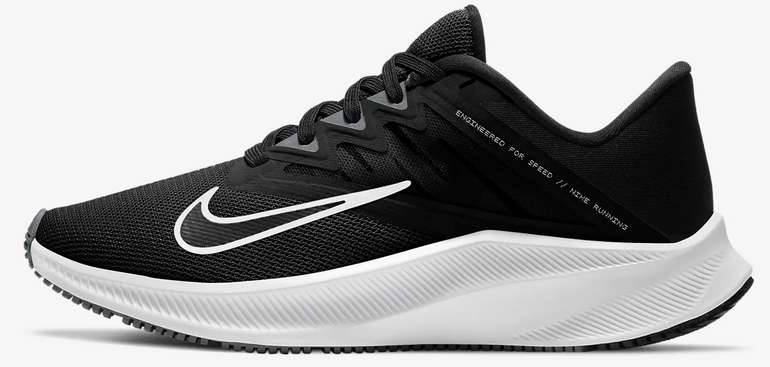 Nike Quest 3 Damen-Laufschuh in schwarz für 36,73€inkl. Versand (statt 53€) - Nike Member!