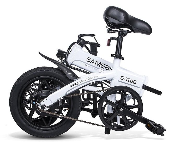 Samebike faltbares elektrisches Fahrrad