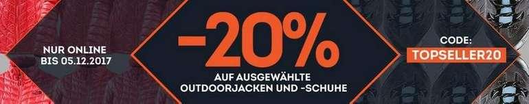 20% auf Outdoorjacken & Wanderschuhe bei Sportscheck, z.B.…