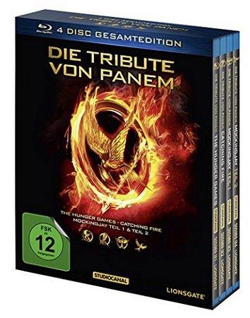 Die Tribute von Panem - Gesamtedition [Blu-ray] für 12,99€ (statt 16€)