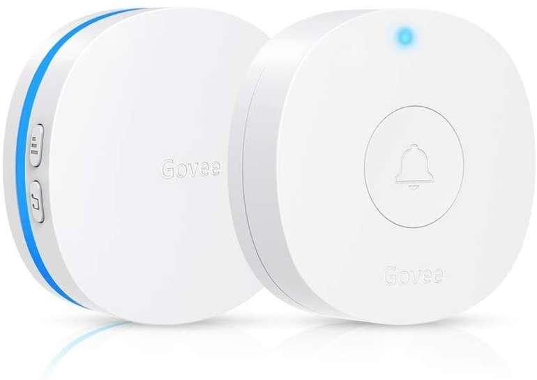 Govee Funkklingel Set (1 Sender + 1 Empfänger, wasserdicht) für 7,99€ inkl. Prime Versand (statt 10€)