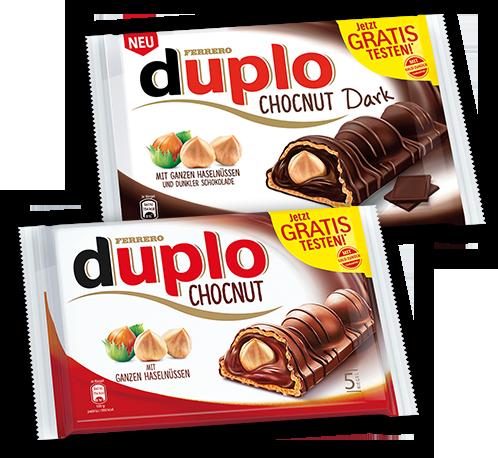 Duplo Chocnut kostenlos testen! (Cashback)