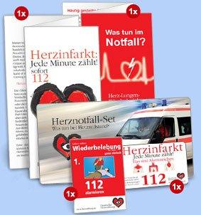Das Herznotfall-Set der Deutschen Herzstiftung kostenlos bestellen