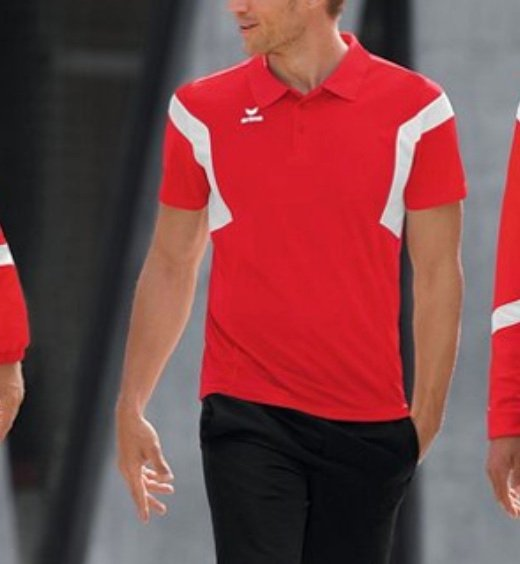 Erima Classic Team Polo-Shirt in rot für nur 8,39€ inkl. Versand (statt 18€)