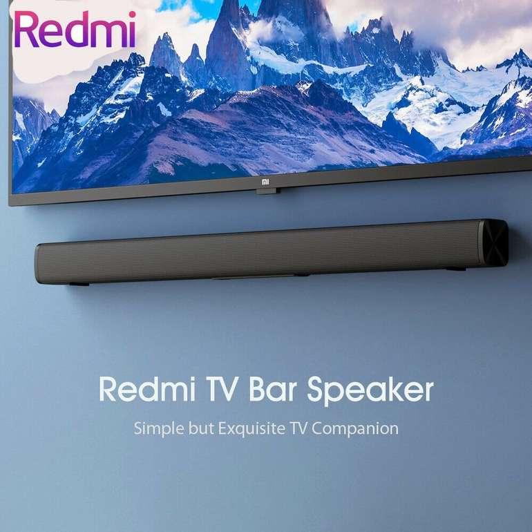 Redmi TV-Bluetooth-Lautsprecher Stereo-Soundbar mit AUX 3,5 mm Kabel für 41,57€ inkl. Versand (statt 47€)