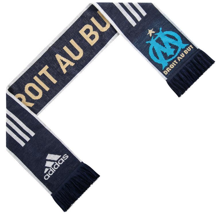 Olympique Marseille Adidas 3 Stripes Schal für 5,94€ inkl. Versand (statt 12€)
