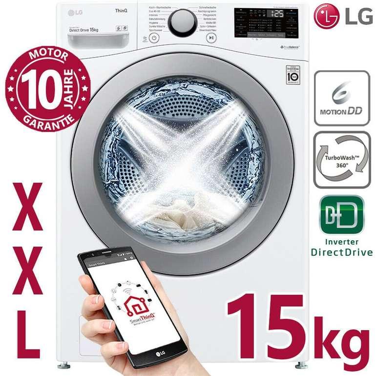 LG Waschmaschine F11WM15TS2 (15kg, 1100 U/min) für 689,99€ inkl. Versand (statt 850€)