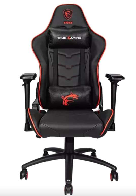 MSI Mag CH120 X Gaming Stuhl in Schwarz/Rot für 222€ inkl. Versand (statt 280€)