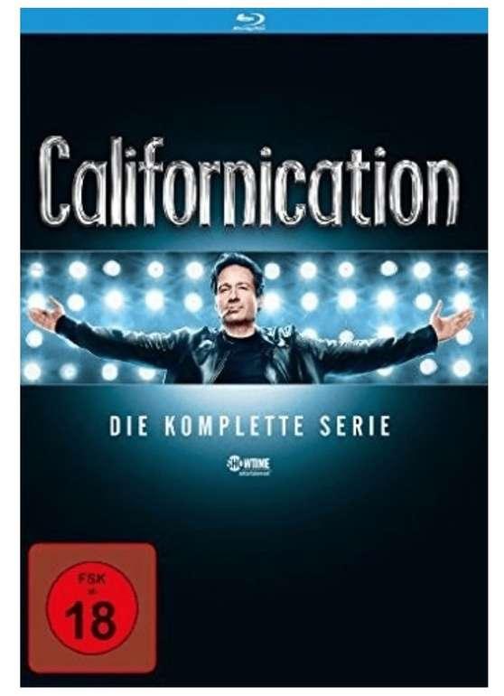 Amazon Prime Day: Californication - Die komplette Serie (Season 1-7) [Blu-ray] für 32,97€ (statt 52€)