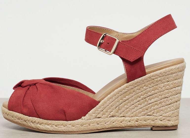 Onygo Claretta Damen Sandale in Rot für 13,98€ inkl. Versand (statt 30€)