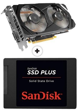RTX 2060 Grafikkarte kaufen & SanDisk SSD Plus 480GB gratis bekommen + Spiel