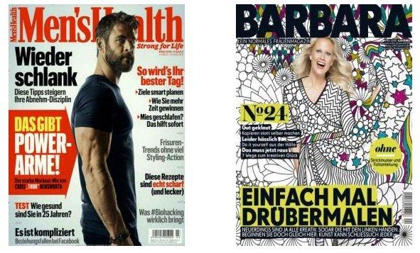 DPV Frühlings-Kampagne: Günstige Zeitschriften Abos, z.B. 10x Barbara 42€