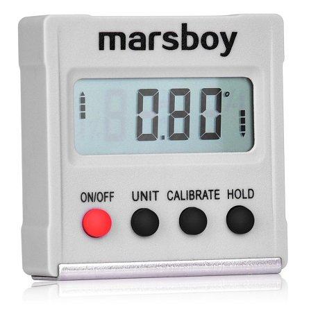 marsboy digitaler Neigungsmesser mit Selbstkalibrierung & Magnetfuß für 8,99€