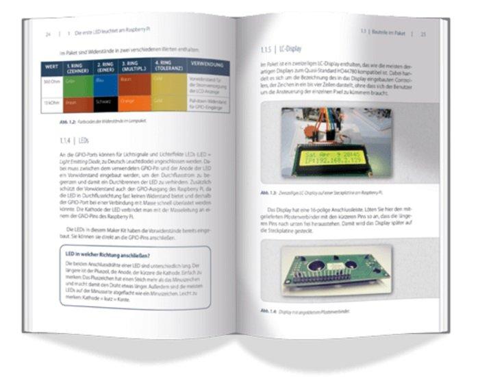 Franzis Maker Kit für Raspberry Pi 4 - Mach's einfach 2