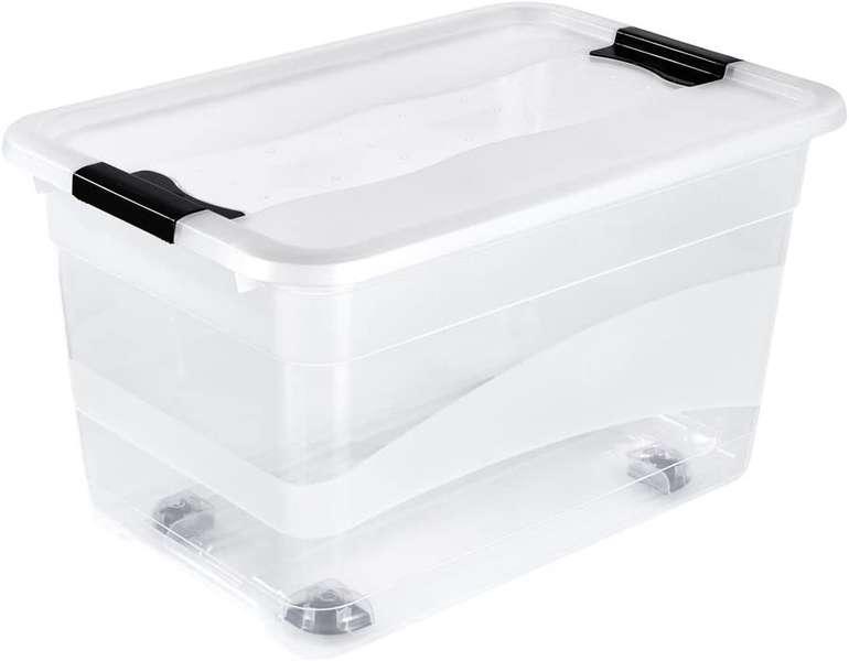 Keeeper Aufbewahrungsbox auf Rollen 52L für 14,49€ inkl. Versand (statt 20€)