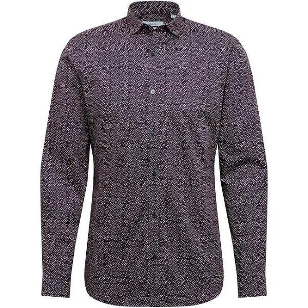 Jack & Jones Hemd 'BOSTON' in dunkelblau/bordeaux für 11,45€ inkl. Versand (statt 26€)