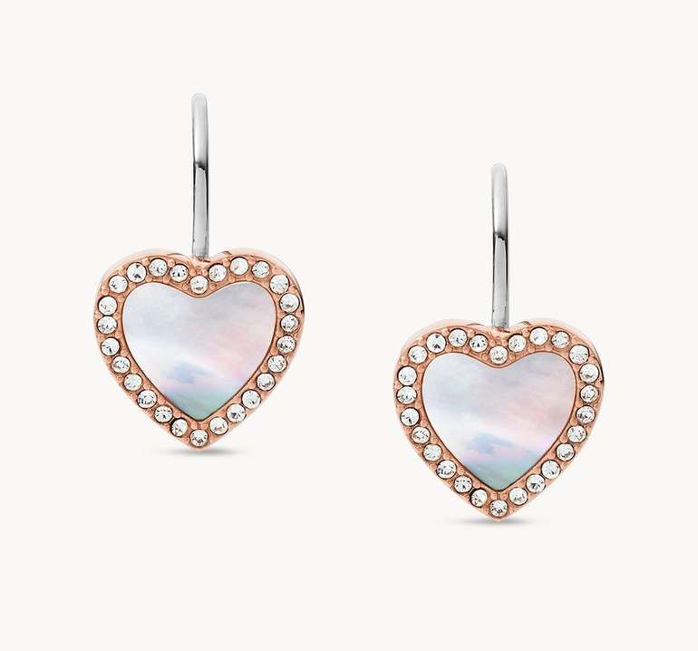 Fossil Damen Ohrringe Hearts To You (JF03456791) für 21,60€ inkl. Versand (statt 29€)