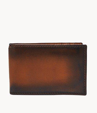"""Fossil Herren Geldbörse """"Hayward"""" mit RFID-Block in Braun und Grau für 11,90€ inkl. Versand (statt 20€)"""