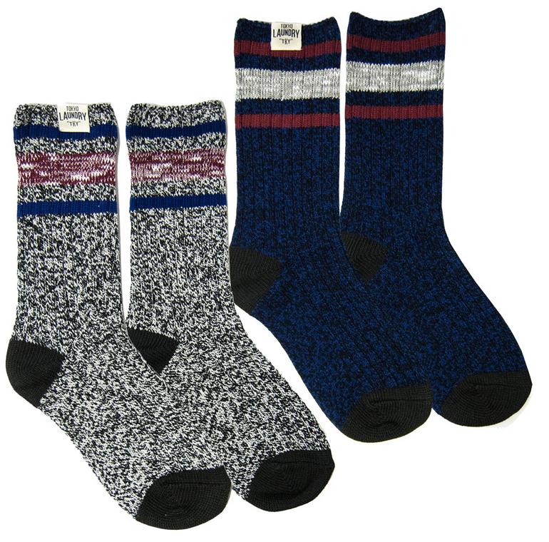 Tokyo Laundry Baypark Herren Socken 2er Pack für 3,33€ zzgl. Versand