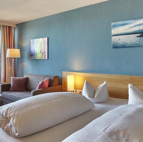 Bayern: 2 ÜN im 3* Hotel Schloss Berg am Starnberger See inkl. Frühstück & 3-Gänge-Menü ab 89€ pro Person