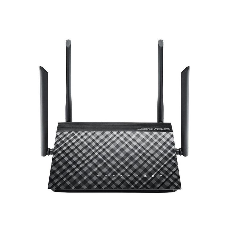 Asus RT-AC1200G+ Wireless AC Dual Band WLAN Router (1200MBit/s) für 55,50€
