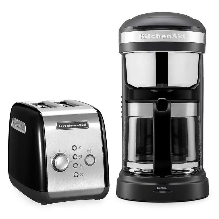 KitchenAid Frühstücks-Set mit Kaffeemaschine und Toaster für 175,94€ inkl. Versand (statt 201€)
