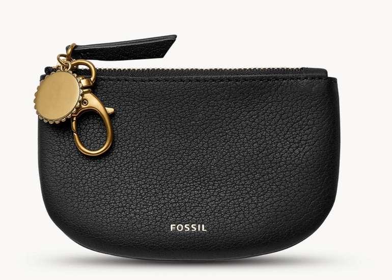 Fossil: -30% Rabatt auf Lederartikel & Sonnenbrillen - z.B Pouch Polly mit Reißverschluss für 27,30€ inkl. Versand