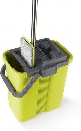 CLEANmaxx Wischsystem Komfort-Mopp Grau/Grün für 28,94€ (statt 35€)