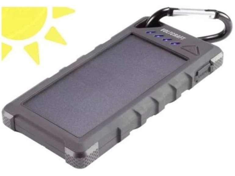 Voltcraft SL-160 VC-8308660 Solar-Powerbank mit 16000 mAh und IP67-Schutz für 33€ inkl. Versand (statt 40€)