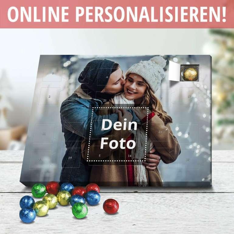 Perfekt! Mit eigenem Foto bedruckter Adventskalender samt Edelvollmilch-Schokolade für 14,50€ inkl. VSK