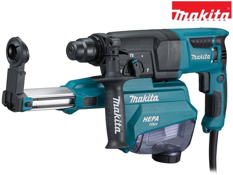 Makita HR2652 SDS-Plus Bohrhammer mit Absauger und HEPA-Filter für 188,90€