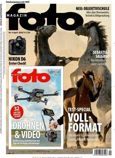 12 Ausgaben fotoMAGAZIN für 92,40€ + 80€ Amazon-Gutschein oder 75€ Scheck