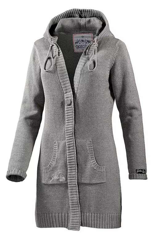 """Gotcha Damen Strickjacke """"Summer Denieze"""" in grau für 23,90€ inkl. Versand (statt 51€)"""