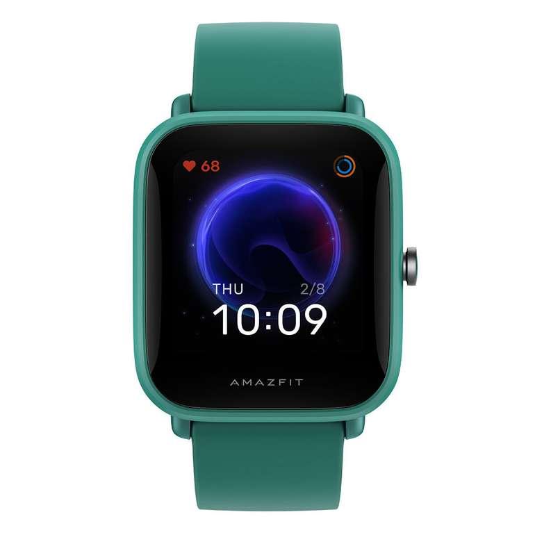 """Amazfit Bip U Smartwatch (1,43"""", wasserdicht) in Grün für 31,98€ inkl. Versand (statt 42€)"""