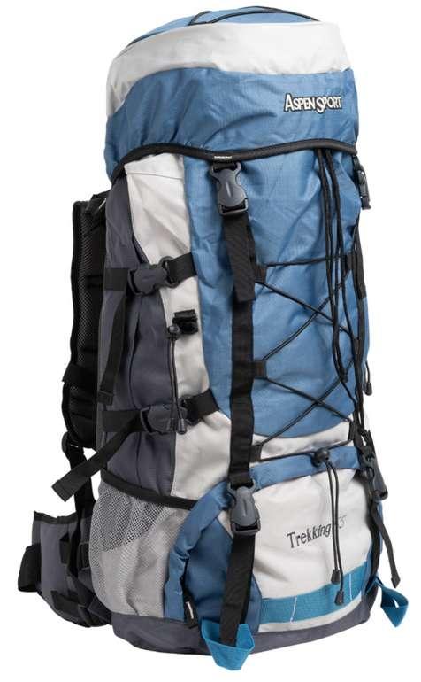 AspenSport Trekking 65 Liter Rucksack AB04Y04 für 29,94€ inkl. Versand (statt 87€)