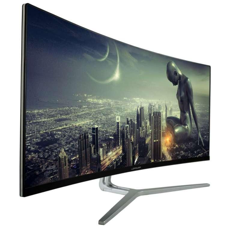 "LC-Power ""LC-M34-UWQHD-100-C"" UltraWide-Curved-PC-Monitor mit 34 Zoll (4ms) für 341,99€inkl. Versand (statt 400€)"