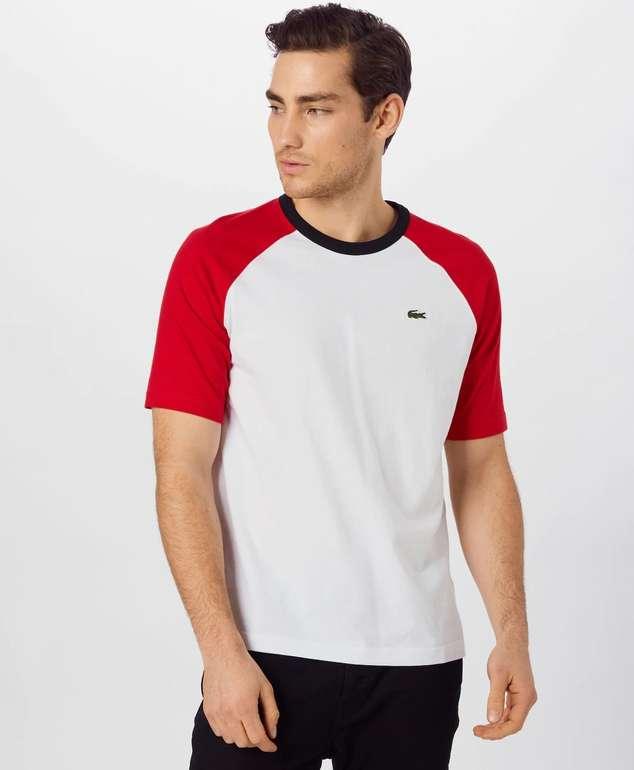 Lacoste Live Unisex Shirt in rot/weiß für 38,17€ inkl. Versand (statt 65€)