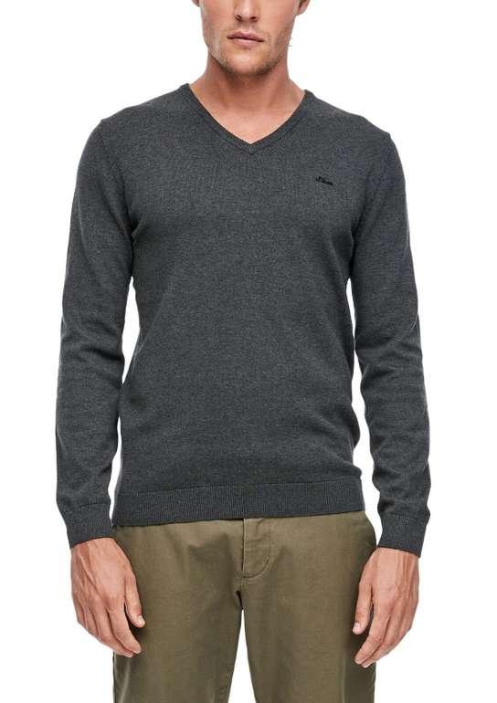s.Oliver RED LABEL Men Pullover (verschiedene Farben) mit V-Ausschnitt für 23,99€ (statt 30€)