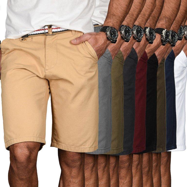 A. Salvarini Bermudas für Herren in vielen Farben nur je 24,90€ mit Versand