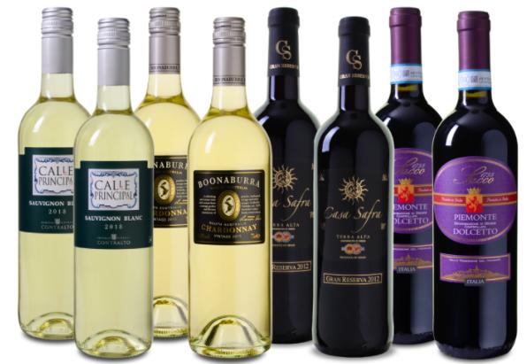 Wein Probierpaket Frühling (8 Flaschen, 4 Weinsorten) für 39,99€ inkl. Versand