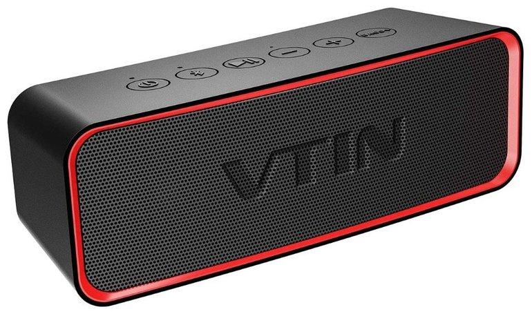 VicTsing R2 Bluetooth-Lautsprecher mit Bass+ & IPX6 für 15,99€ inkl. VSK (Prime)