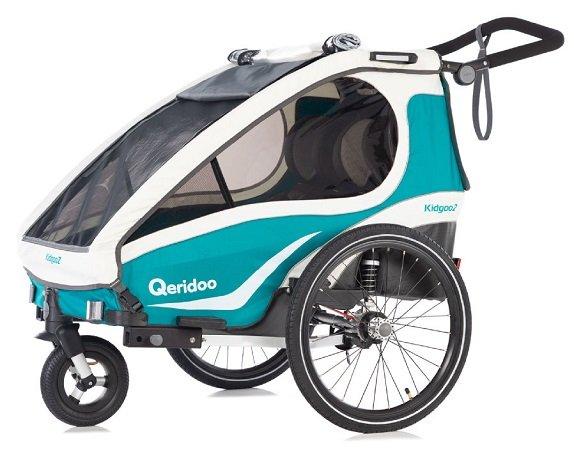 Qeridoo KidGoo 2 Fahrradanhänger (Modell: 2019) für 386,94€ inkl. VSK