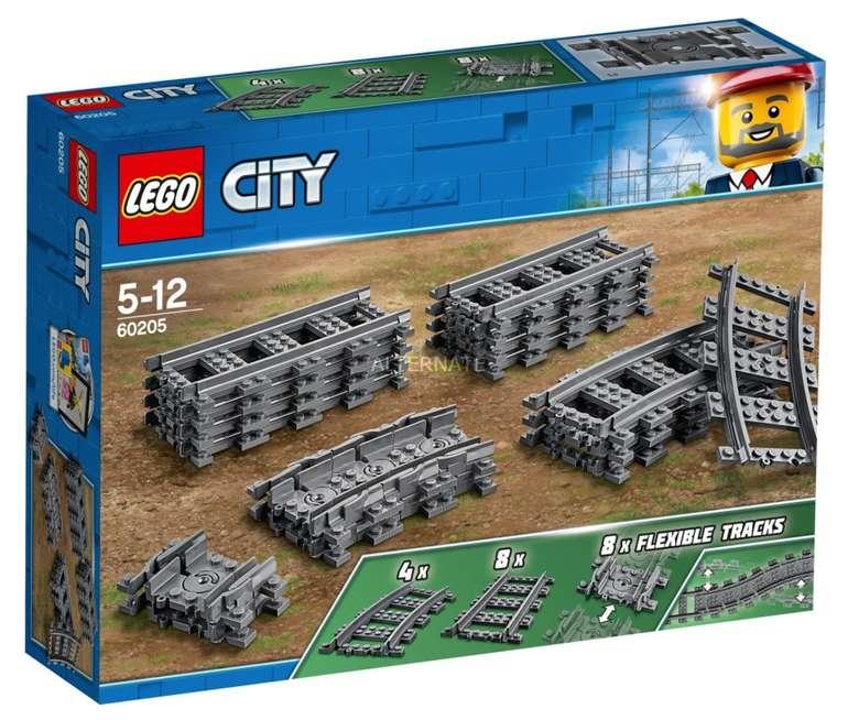 Lego City - Schienen (60205) für 12,99€ inkl. Versand (statt 18€)