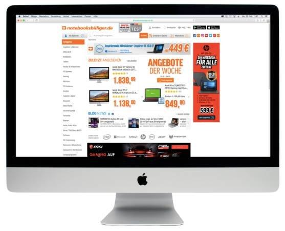 """Apple iMac 27"""" Retina 5K MNEA2D/A (i5, 8GB RAM, 3TB+128GB Fusion) für 1958,98€"""