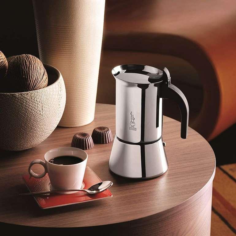 Bialetti Venus 10 Espressokocher (Für 10 Tassen, 450 ml, Für alle Herdarten geeignet) für 29,90€ (statt 50€)