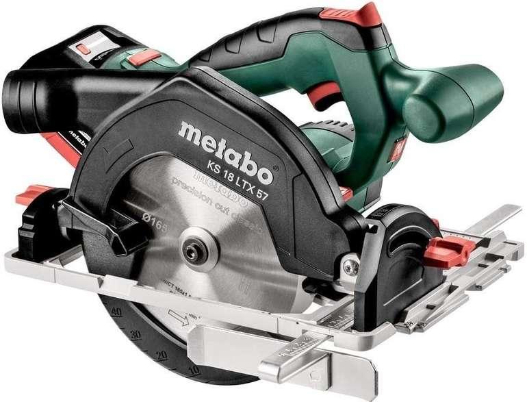 Metabo Akku-Handkreissäge KS 18 LTX 57 (601857810) für 385,06€ inkl. VSK (statt 459€)