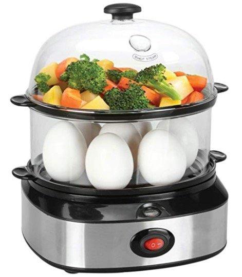 Pyrus Multifunktions-Eierkocher mit 2 Ebenen für 17,39€ inkl. Versand (Prime)