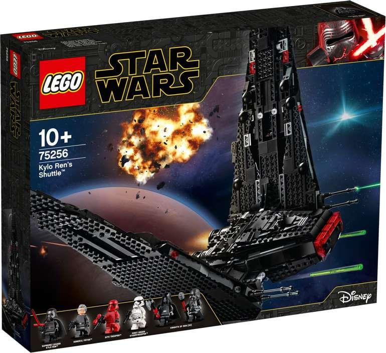 Lego Star Wars 75256 - Kylo Ren's Shuttle für 82,90€ (statt 93€)