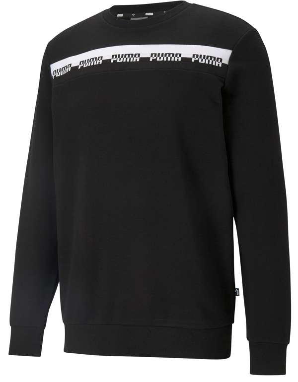 """Puma Herren Sweatshirt """"Amplified"""" im Schwarz für 17,52€ inkl. Versand (statt 23€)"""
